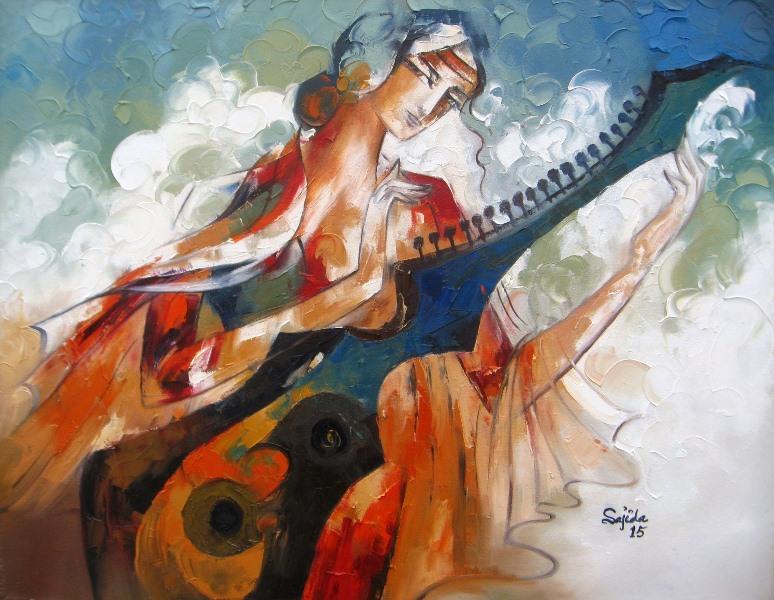 Pakistani art, Pakistan, art gallery paintings in Karachi, Lahore, Islamabad